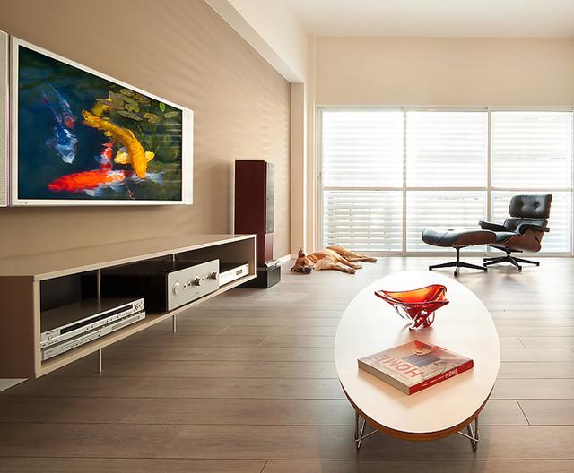 modern living room by Elad Gonen & Zeev Beech