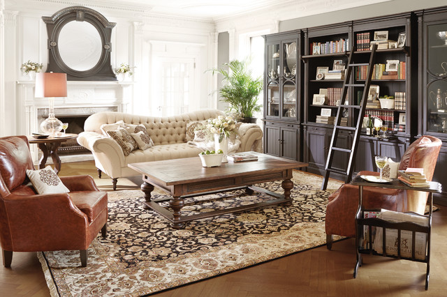 Club Collection  Traditional  Living Room  by Arhaus