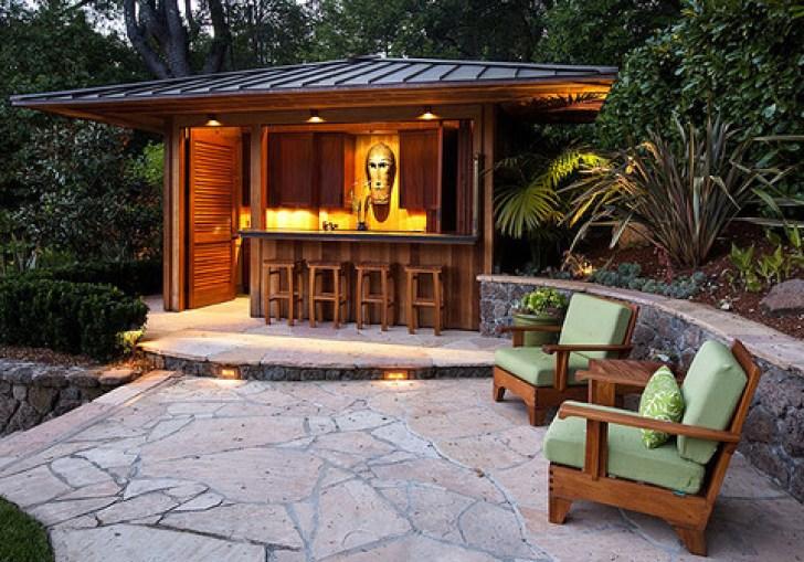 Outside Tiki Bar Ideas