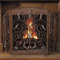 Orleans Fireplace Screen - Frontgate - Traditional ...