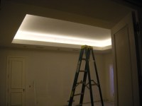 Rancho Santa Fe Home Remodel with Coved Ceiling LED ...