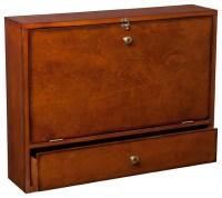 Holden Wall-Mount Laptop Desk - Traditional - Desks And ...