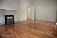 NSW Spotted Gum wide board flooring - Traditional - Living ...