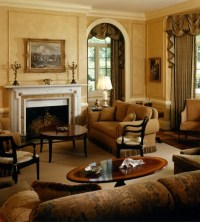 English Manor House - Traditional - Living Room - chicago ...