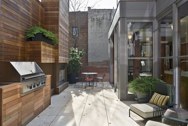 Gramercy Townhouse Modern Patio New York By