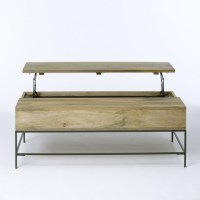 Rustic Storage Coffee Table - Contemporary - Coffee Tables ...
