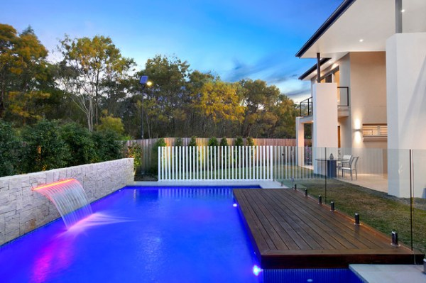25+ Contemporary Pool Landscape Pictures and Ideas on Pro Landscape