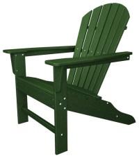 Eco-friendly Adirondack Armchair in Green - Contemporary ...