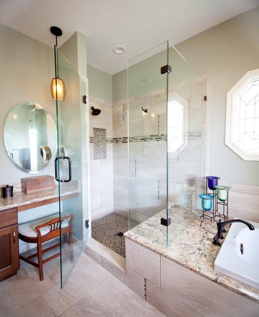 Austin 360 Bathroom Remodel  Traditional  Bathroom  austin  by On Time Baths