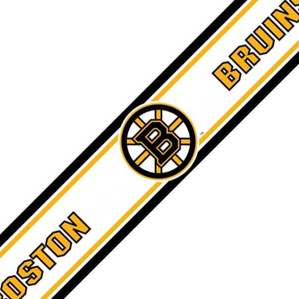 NHL Boston Bruins Hockey Wallpaper Accent Border Roll
