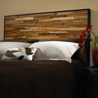 Reclaimed Wood Panel Headboard - Modern - Headboards - by ...