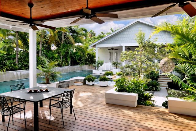 photos key west contemporary tropical deck miami