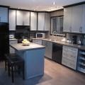 Cabinet refacing modern kitchen edmonton by reface magic