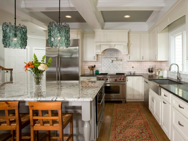 french colonial kitchen design French Colonial Kitchen - Transitional - dc metro - by Sun