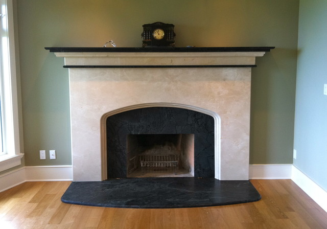 Fireplaces  Traditional  Living Room  other metro  by