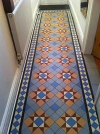 Hallway Renovation - Victorian Floor Tiles - Traditional ...