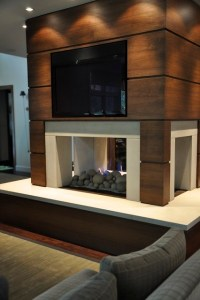 Modern Fireplace - Modern - Living Room - detroit - by ...