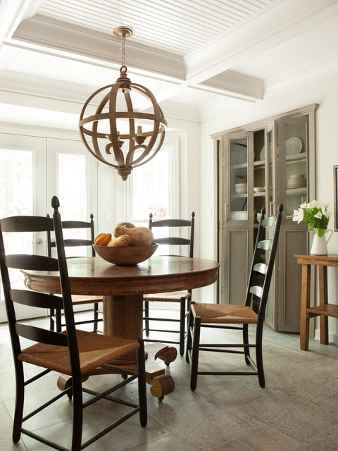 Modern Country Kitchen Traditional Dining Room