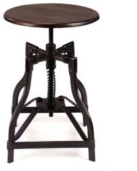 McClain | Industrial Style Swivel Stool - Industrial ...