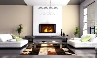 Cowhide Patchwork Rugs in contemporary home decor