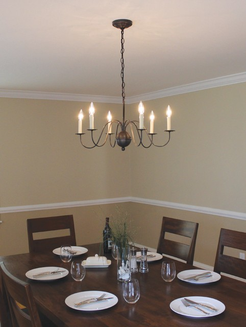 Handcrafted Chandeliers  Traditional  Dining Room