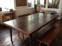 Reclaimed Wood Dining Table - Contemporary - Dining Tables ...