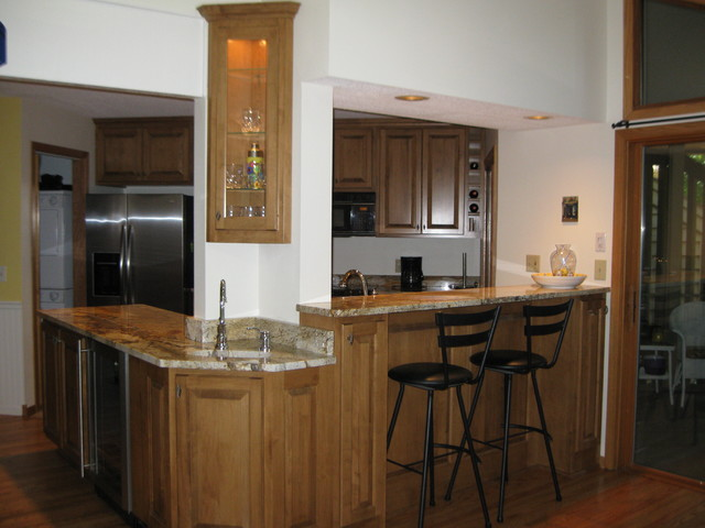 Condo Kitchen Remodel Traditional Other Metro