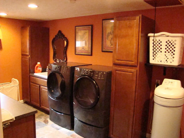 The Finished Basement LLC  Traditional  Laundry Room
