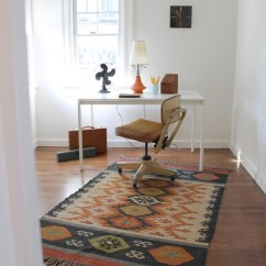 Vintage Bedroom Chair Ebay Design Museum Mid Century Modern Style With Kilim Rug - Eclectic Home Office Los Angeles By ...