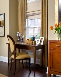 Toronto Living Room with Desk - Traditional - Living Room ...