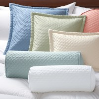 Quilted Twill Pillow Covers - Pillowcases And Shams ...