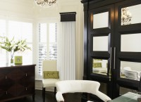 Cornice Window Treatments - Home Office