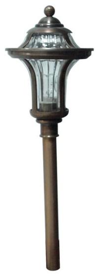 Portfolio Copper Low-voltage Path Light - Traditional ...