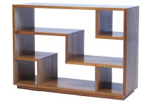 Tao Small Bookcase, Natural Walnut - Modern - Bookcases ...