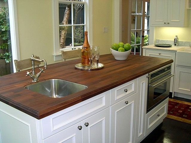 Plato Cabinets Wood Spekva counter top  Traditional