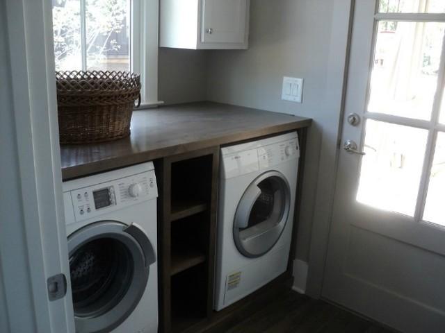 2012 Bosch NetZero Home  Serenbe  Contemporary  Laundry