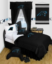 Carolina Panthers NFL Locker Room Complete Bedroom Package ...