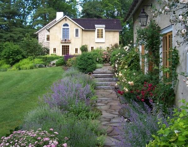 romantic guesthouse garden - farmhouse