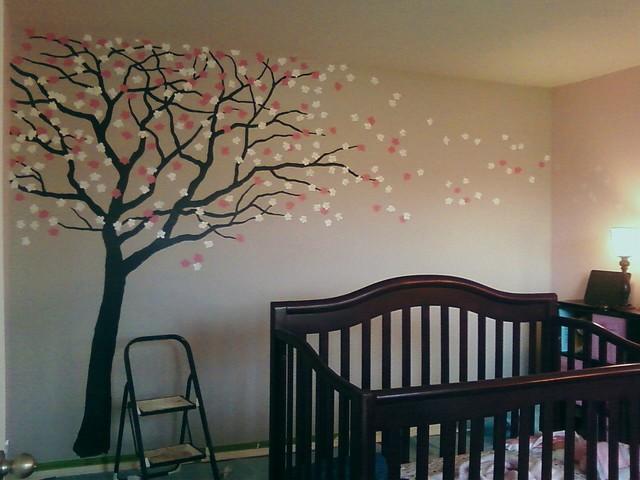 modern wall sconces living room black n white cherry blossom nursery - traditional kids new orleans ...
