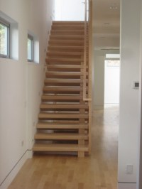 Maple Stairs and Baluster Wall - Contemporary - Staircase ...