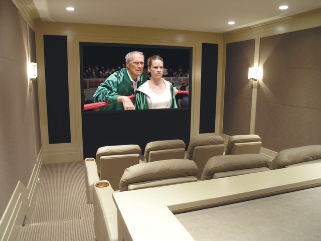 High Definition Home Theater  Contemporary  Home Theater