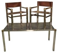 Pre-owned 1970s Chrome Dining Table & 4 Chairs ...