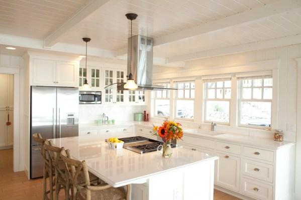 beach cottage style kitchens Beach Cottage - Beach Style - Kitchen - seattle - by