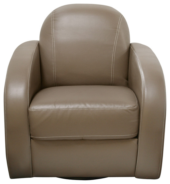 Stetson Low Profile Swivel Chair by Diamond Sofa