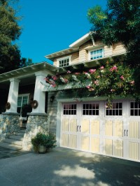 Two-Tone Classica Garage Doors - Traditional - Garage And ...