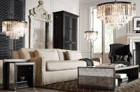 Traditional Living Room (Restoration Hardware) - Contemporary