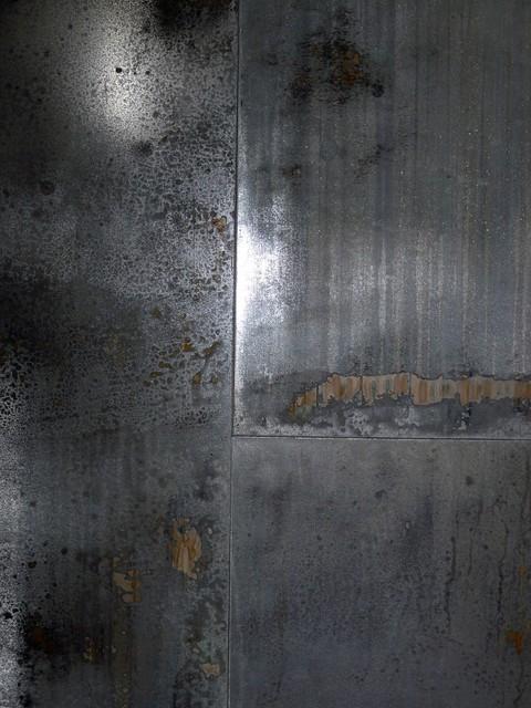 Modern Industrial Metal Wall Tile 32SQ FT Industrial