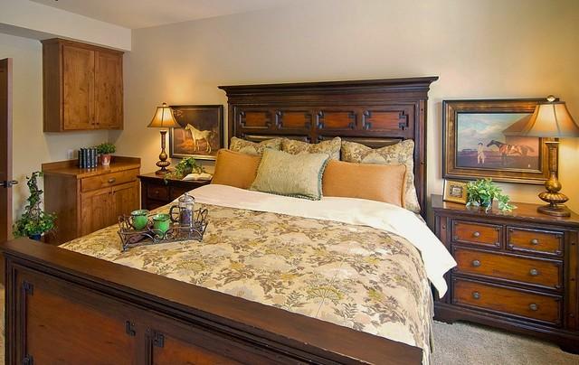 Rustic Elegant Master Bedroom