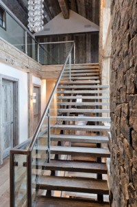 Rustic Redux - Rustic - Staircase - jackson - by On Site ...