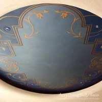 Hand Painted Dome Ceiling